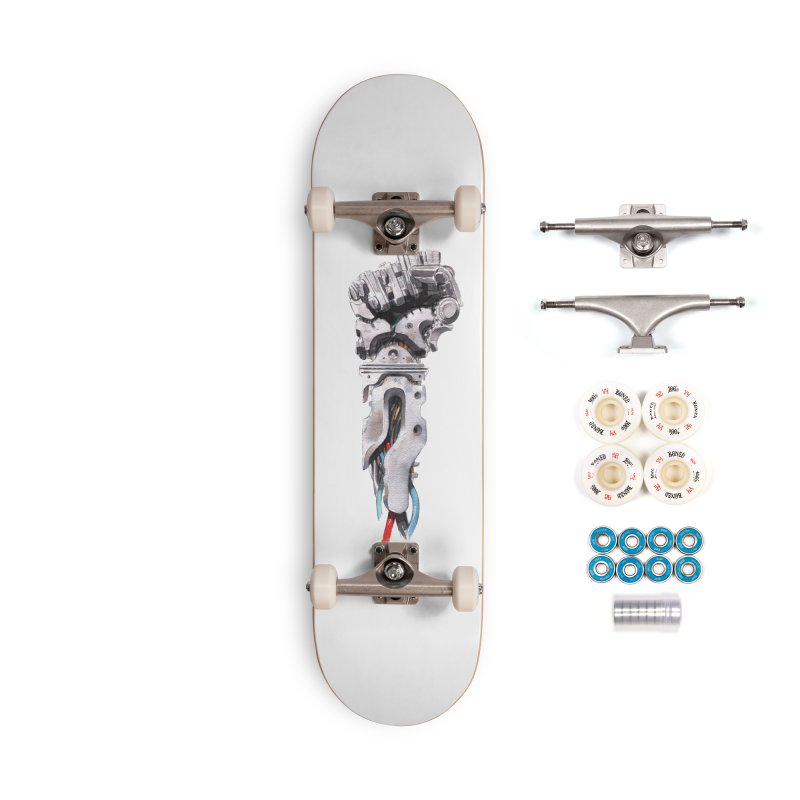 RISE Accessories Skateboard by Dustin Nguyen's Artist Shop