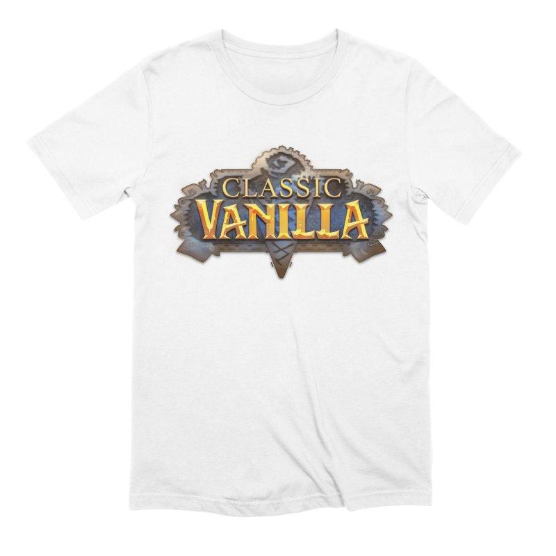 Classic Vanilla Men's T-Shirt by dustinlincoln's Artist Shop