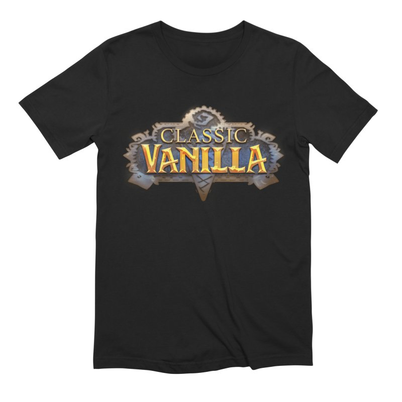 Classic Vanilla Men's Extra Soft T-Shirt by dustinlincoln's Artist Shop