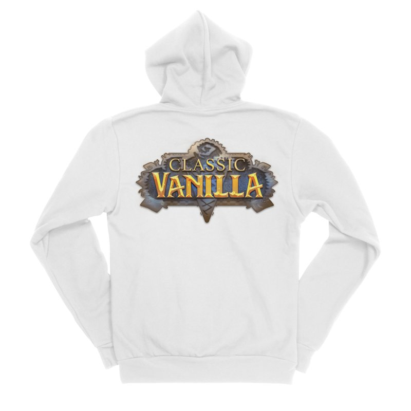 Classic Vanilla Women's Zip-Up Hoody by dustinlincoln's Artist Shop
