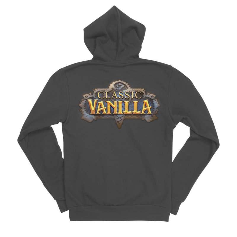 Classic Vanilla Men's Sponge Fleece Zip-Up Hoody by dustinlincoln's Artist Shop