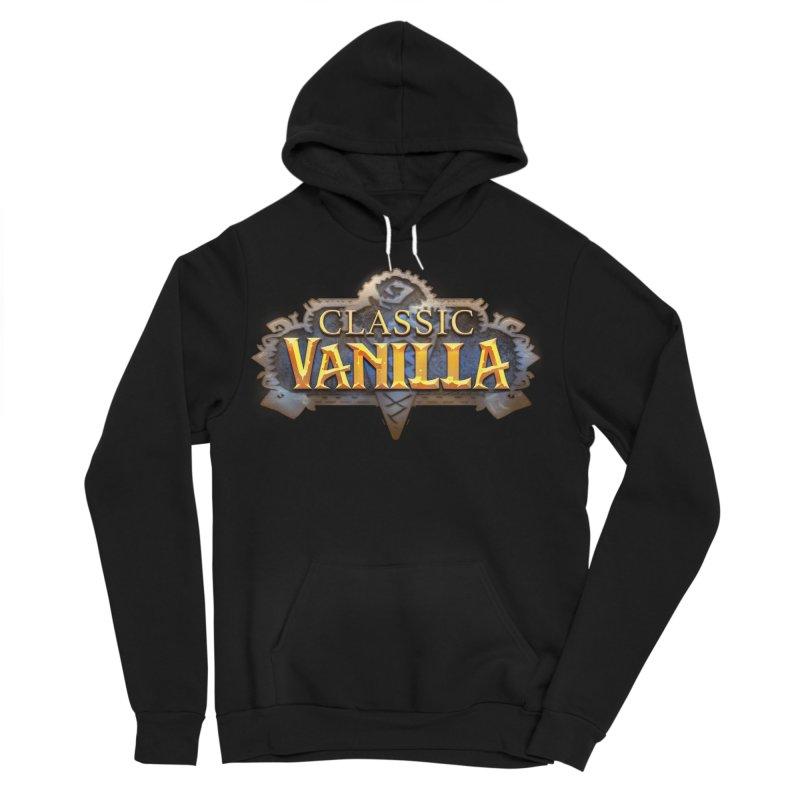 Classic Vanilla Men's Sponge Fleece Pullover Hoody by dustinlincoln's Artist Shop