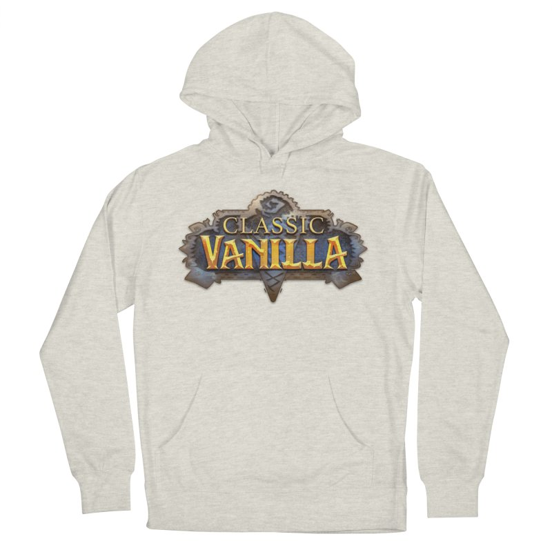 Classic Vanilla Women's French Terry Pullover Hoody by dustinlincoln's Artist Shop