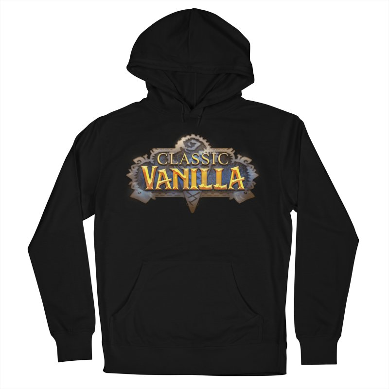 Classic Vanilla Men's French Terry Pullover Hoody by dustinlincoln's Artist Shop
