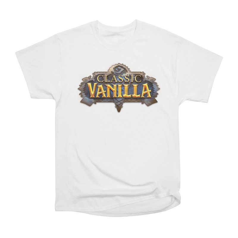 Classic Vanilla Women's Heavyweight Unisex T-Shirt by dustinlincoln's Artist Shop