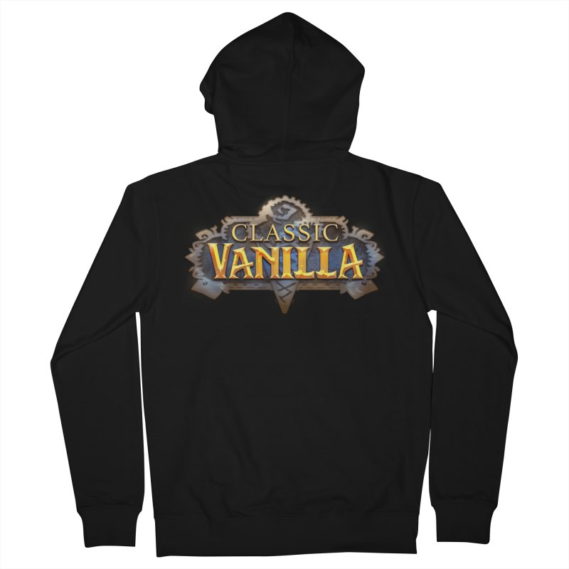 Classic Vanilla Men's Zip-Up Hoody by dustinlincoln's Artist Shop