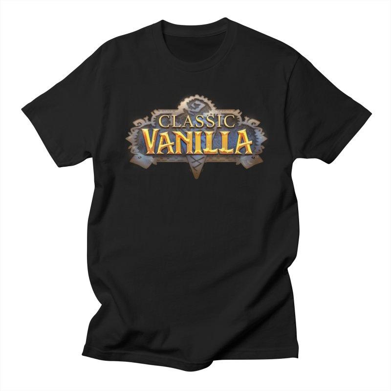 Classic Vanilla Men's Regular T-Shirt by dustinlincoln's Artist Shop