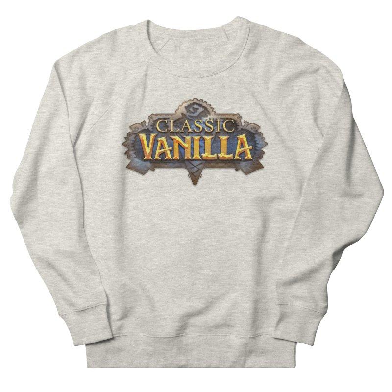 Classic Vanilla Men's Sweatshirt by dustinlincoln's Artist Shop