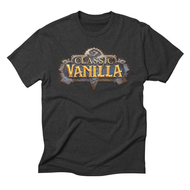 Classic Vanilla Men's Triblend T-Shirt by dustinlincoln's Artist Shop