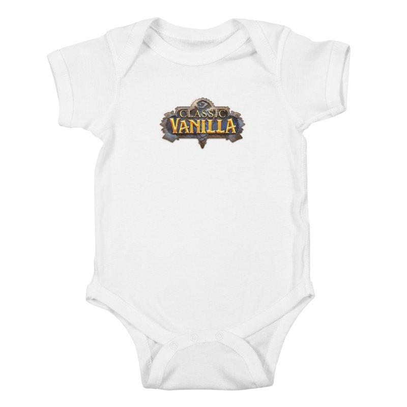 Classic Vanilla Kids Baby Bodysuit by dustinlincoln's Artist Shop