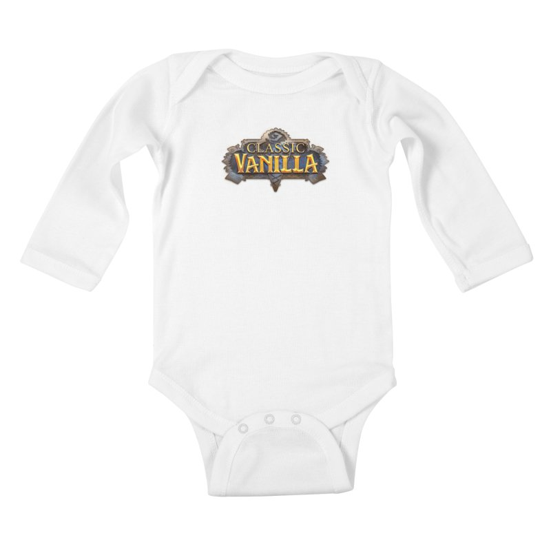 Classic Vanilla Kids Baby Longsleeve Bodysuit by dustinlincoln's Artist Shop
