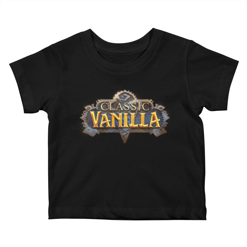 Classic Vanilla Kids Baby T-Shirt by dustinlincoln's Artist Shop