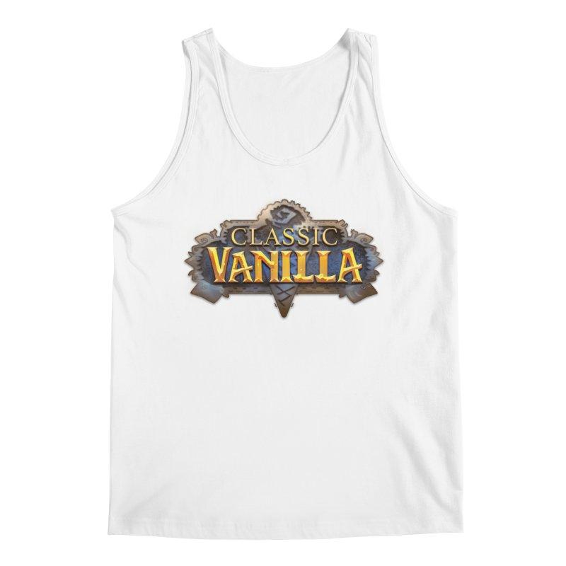 Classic Vanilla Men's Tank by dustinlincoln's Artist Shop