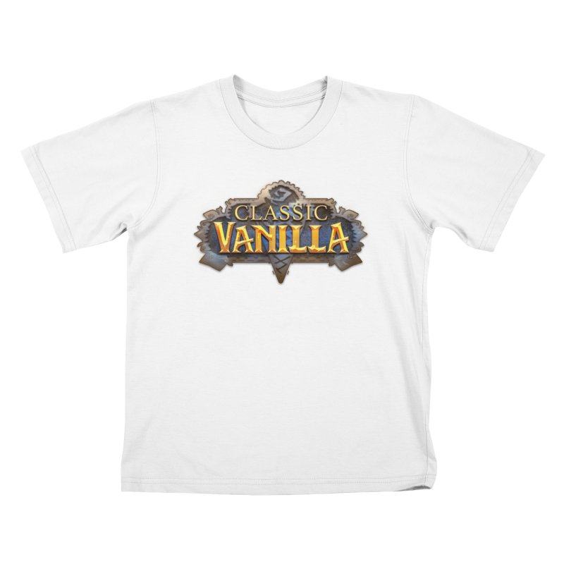 Classic Vanilla Kids T-Shirt by dustinlincoln's Artist Shop