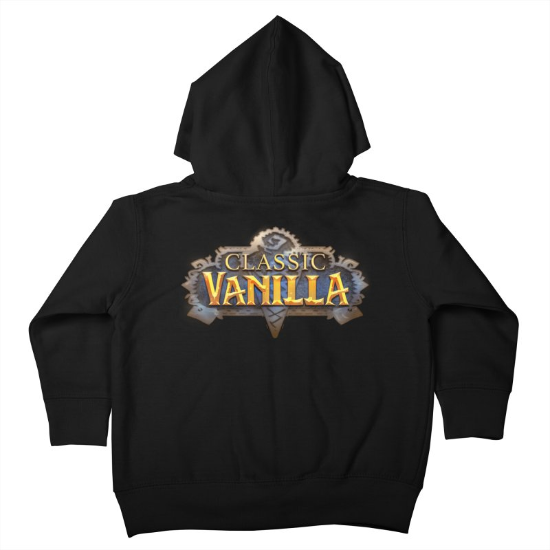 Classic Vanilla Kids Toddler Zip-Up Hoody by dustinlincoln's Artist Shop