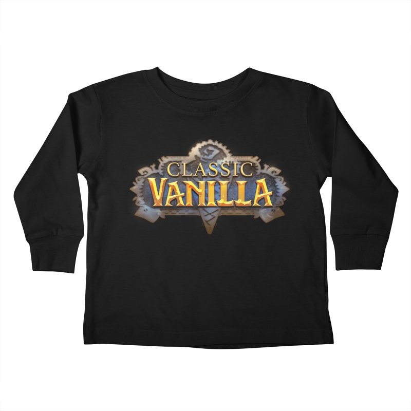 Classic Vanilla Kids Toddler Longsleeve T-Shirt by dustinlincoln's Artist Shop