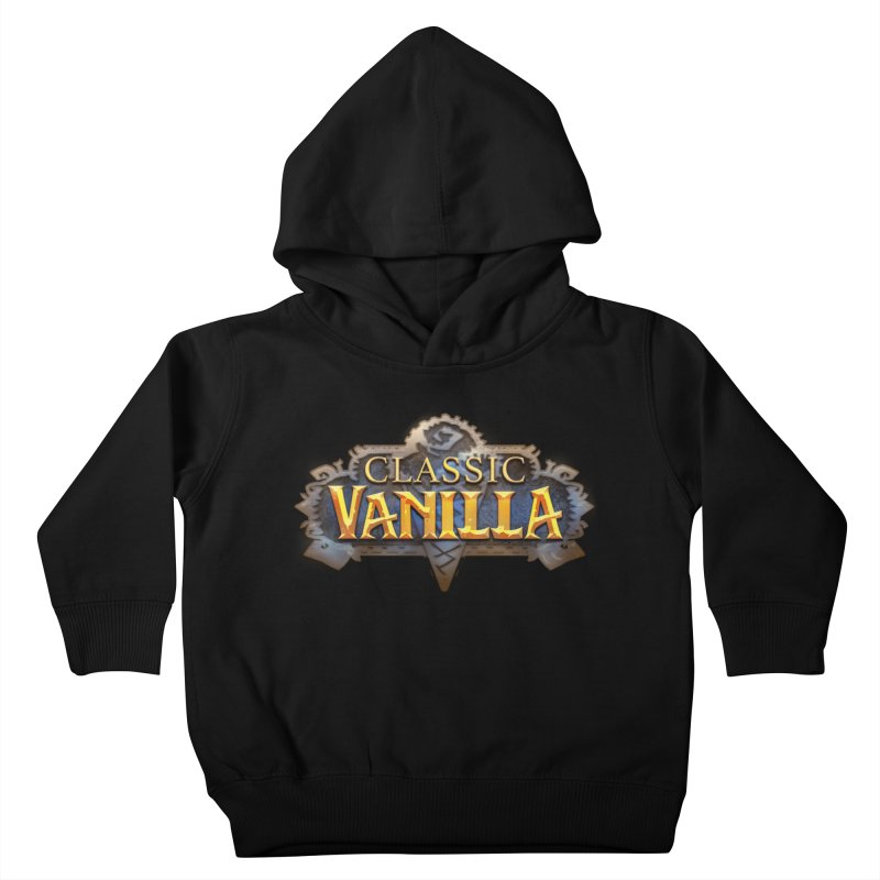 Classic Vanilla Kids Toddler Pullover Hoody by dustinlincoln's Artist Shop