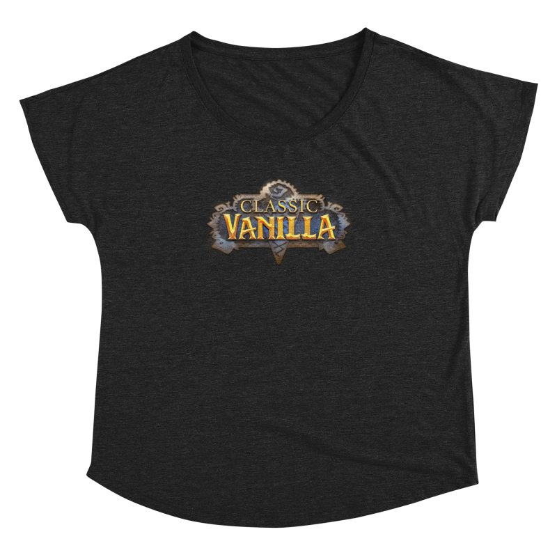 Classic Vanilla Women's Scoop Neck by dustinlincoln's Artist Shop