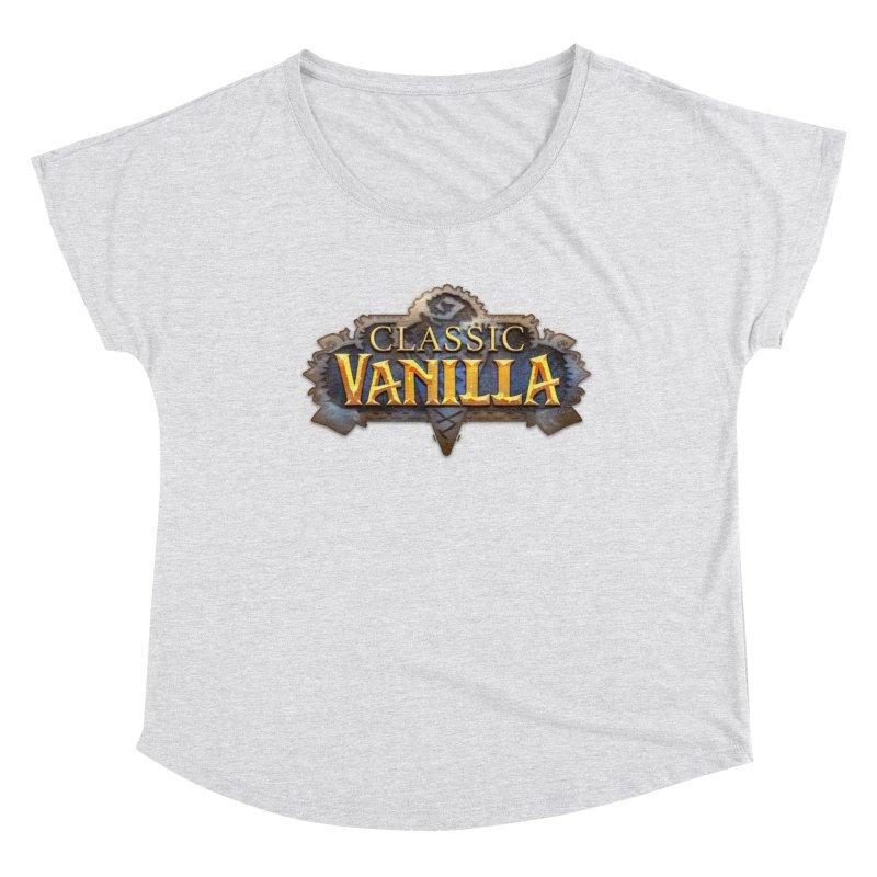 Classic Vanilla Women's Dolman Scoop Neck by dustinlincoln's Artist Shop