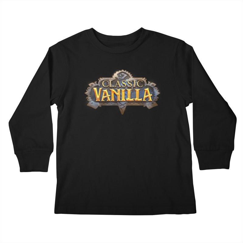 Classic Vanilla Kids Longsleeve T-Shirt by dustinlincoln's Artist Shop