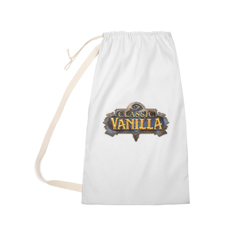 Classic Vanilla Accessories Bag by dustinlincoln's Artist Shop