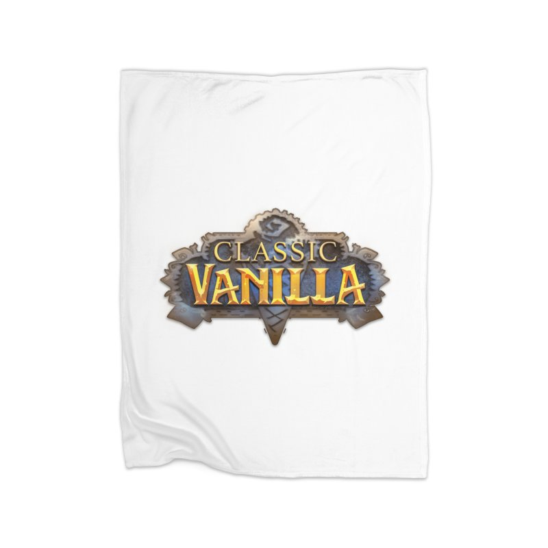 Classic Vanilla Home Blanket by dustinlincoln's Artist Shop