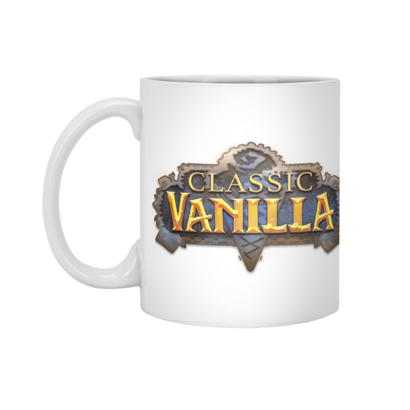 Classic Vanilla Accessories Standard Mug by dustinlincoln's Artist Shop