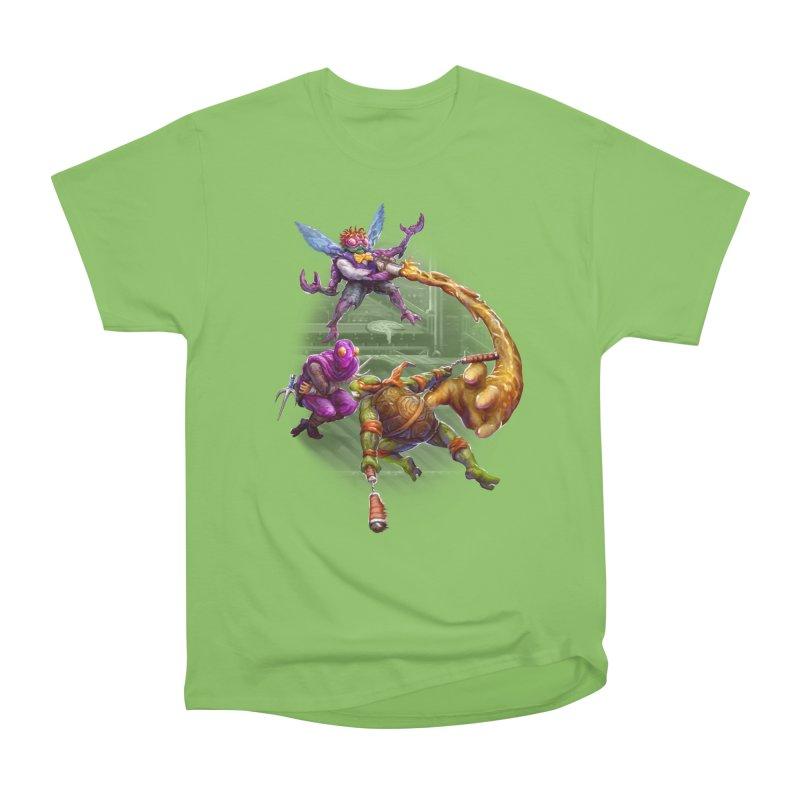 Big Apple 3 A.M. Men's Heavyweight T-Shirt by dustinlincoln's Artist Shop