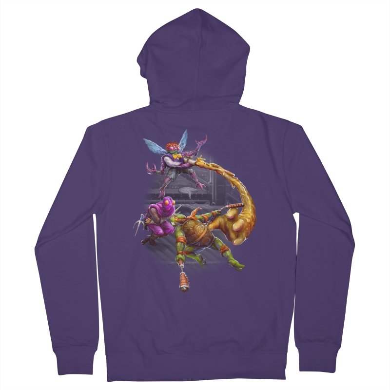 Big Apple 3 A.M. Women's French Terry Zip-Up Hoody by dustinlincoln's Artist Shop