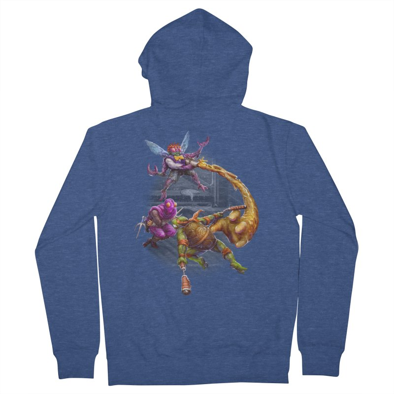 Big Apple 3 A.M. Men's Zip-Up Hoody by dustinlincoln's Artist Shop