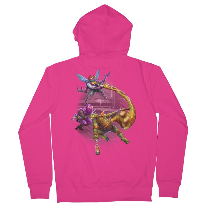 Big Apple 3 A.M. Men's French Terry Zip-Up Hoody by dustinlincoln's Artist Shop
