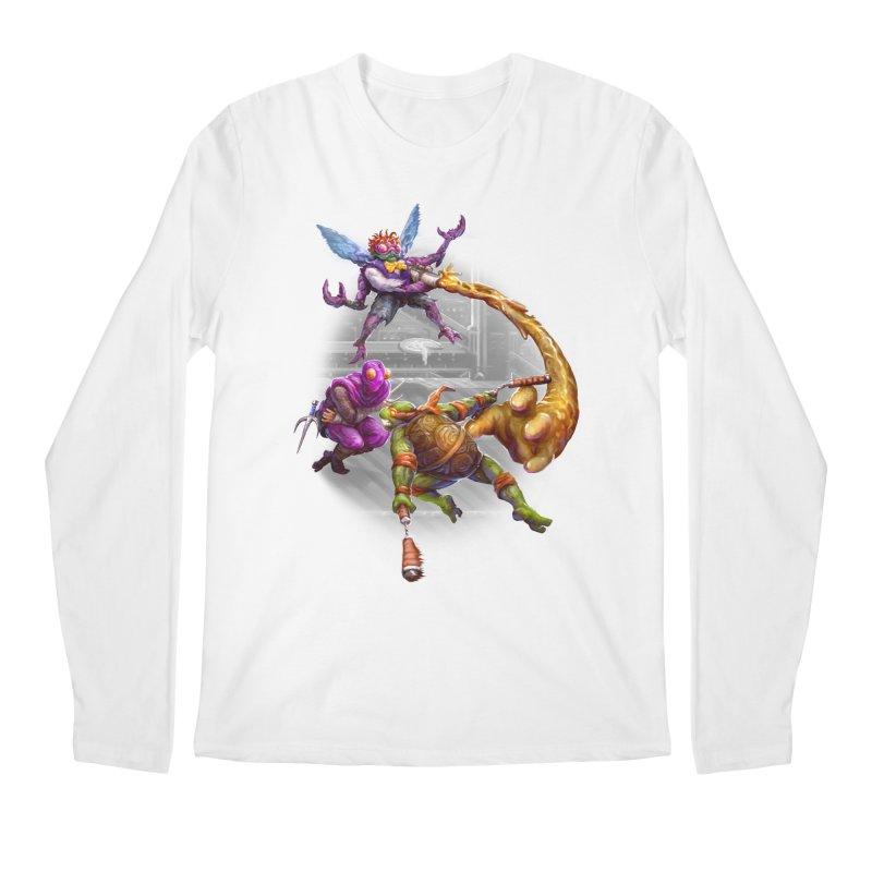 Big Apple 3 A.M. Men's Regular Longsleeve T-Shirt by dustinlincoln's Artist Shop