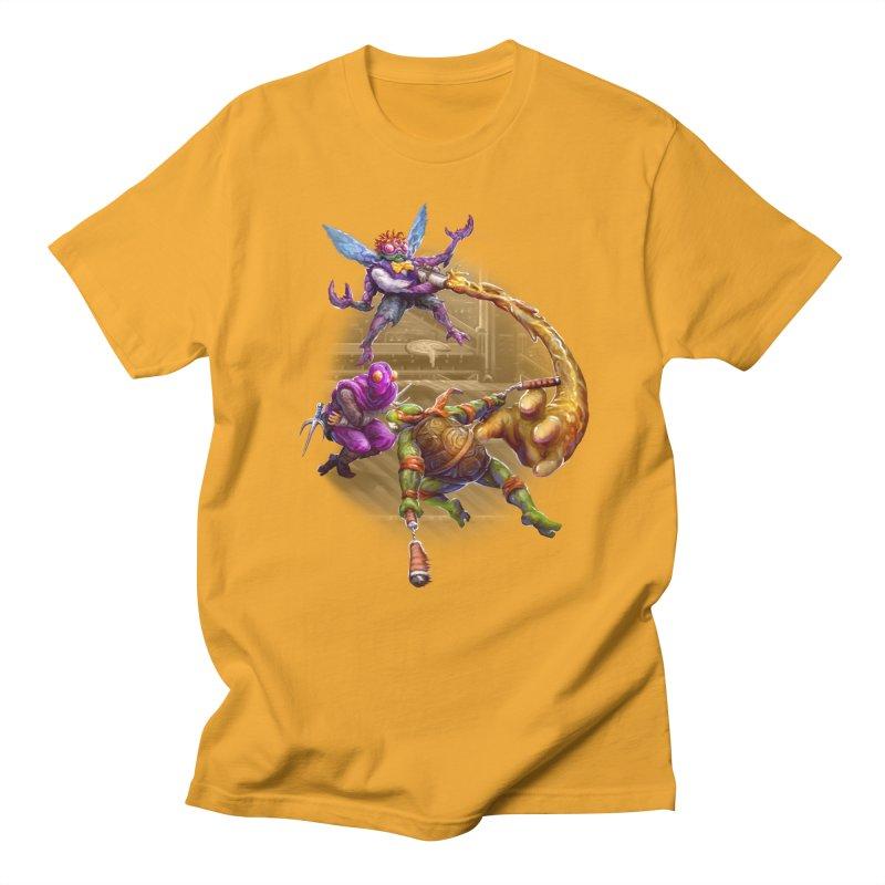 Big Apple 3 A.M. Men's Regular T-Shirt by dustinlincoln's Artist Shop