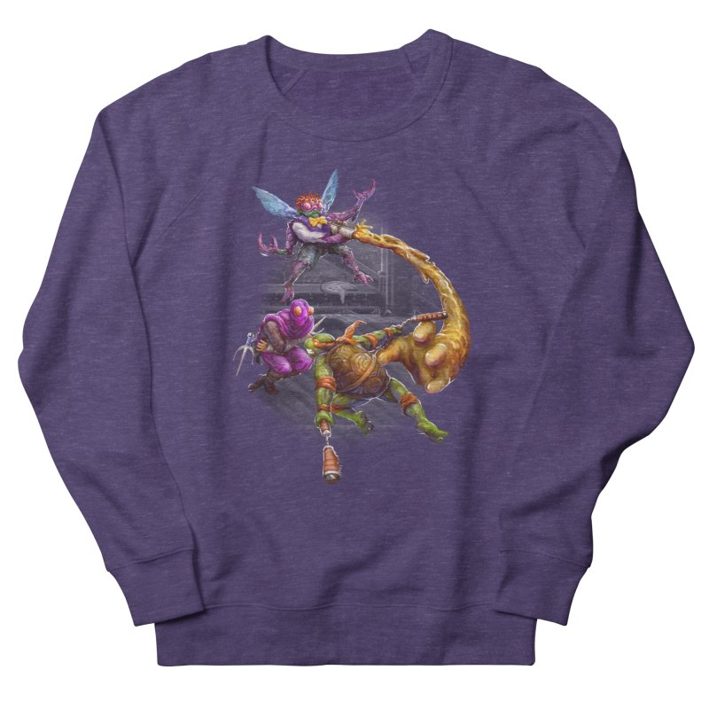 Big Apple 3 A.M. Women's French Terry Sweatshirt by dustinlincoln's Artist Shop
