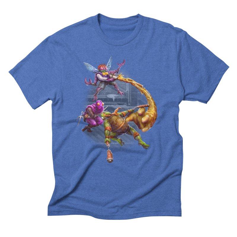 Big Apple 3 A.M. Men's Triblend T-Shirt by dustinlincoln's Artist Shop