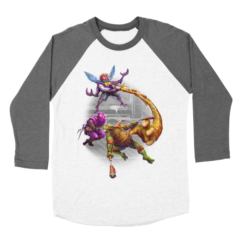 Big Apple 3 A.M. Men's Baseball Triblend Longsleeve T-Shirt by dustinlincoln's Artist Shop