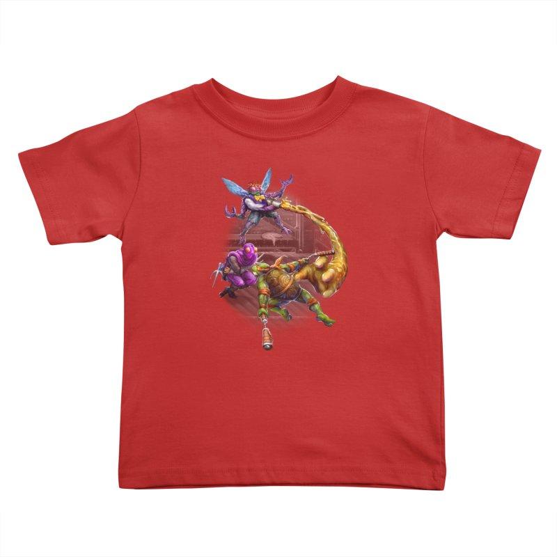 Big Apple 3 A.M. Kids Toddler T-Shirt by dustinlincoln's Artist Shop