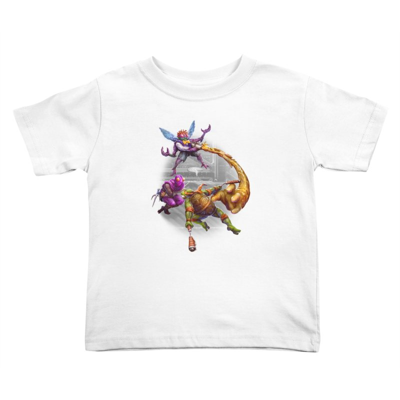 Big Apple 3 A.M. Kids Toddler T-Shirt by dustinlincoln's Artist Shop