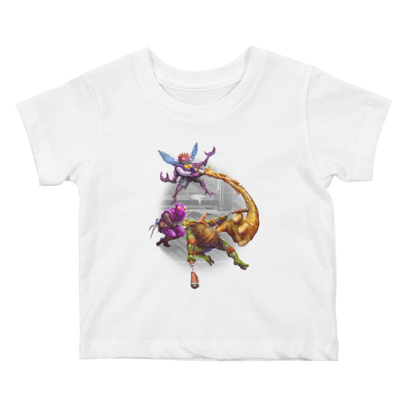 Big Apple 3 A.M. Kids Baby T-Shirt by dustinlincoln's Artist Shop