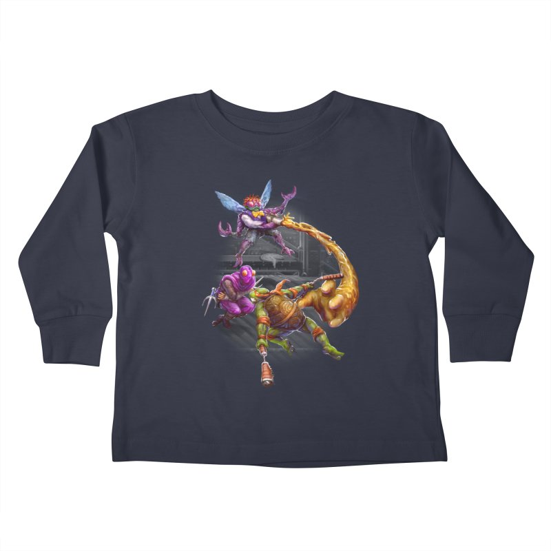 Big Apple 3 A.M. Kids Toddler Longsleeve T-Shirt by dustinlincoln's Artist Shop