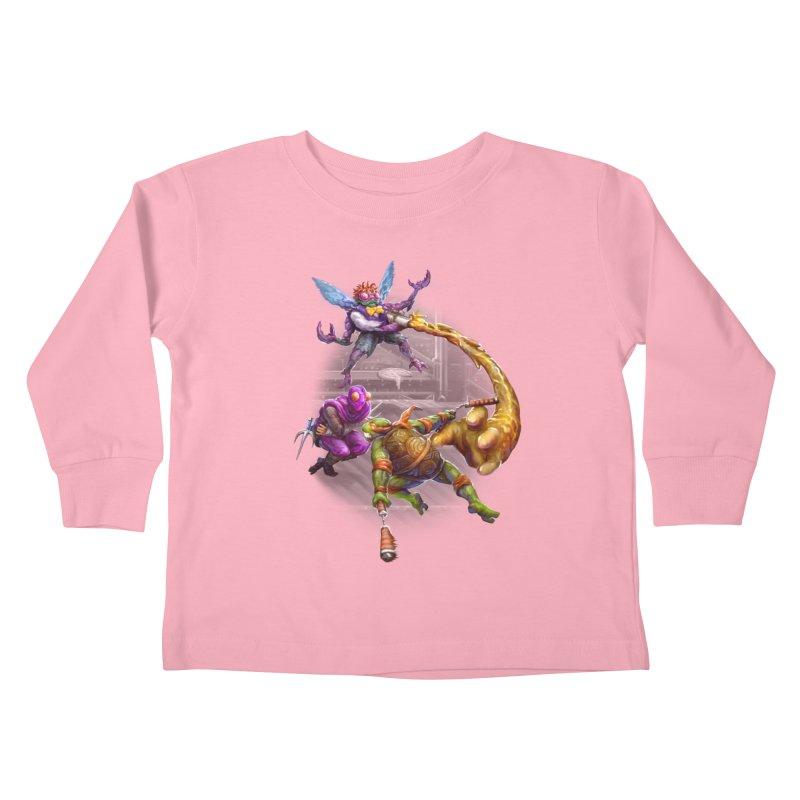 Big Apple 3 A.M. Kids Toddler Longsleeve T-Shirt by dustinlincoln's Artist Shop