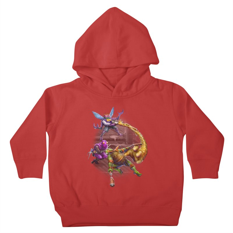 Big Apple 3 A.M. Kids Toddler Pullover Hoody by dustinlincoln's Artist Shop