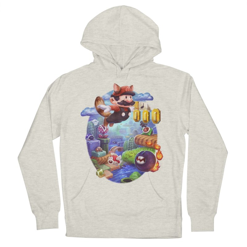 High Adventure Women's French Terry Pullover Hoody by dustinlincoln's Artist Shop