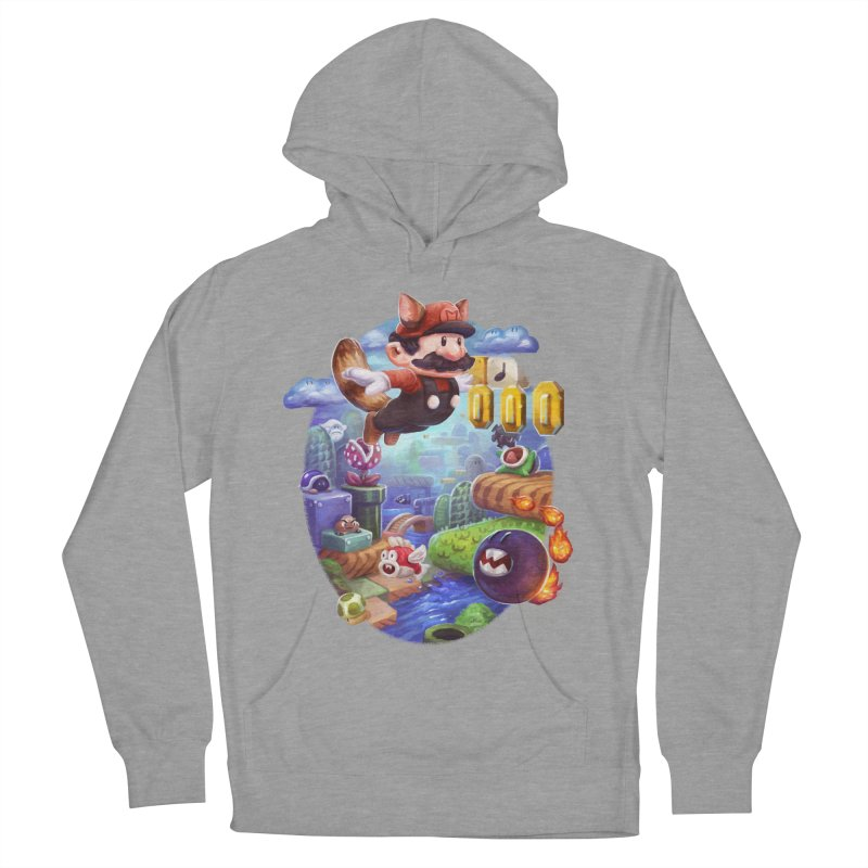 High Adventure Men's French Terry Pullover Hoody by dustinlincoln's Artist Shop
