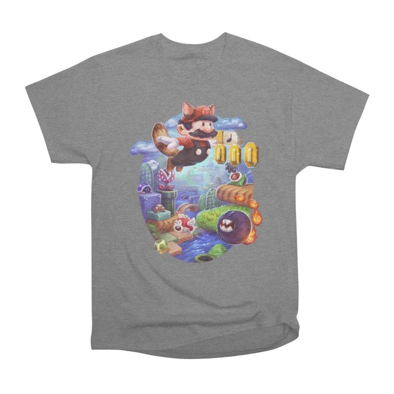 High Adventure Men's Heavyweight T-Shirt by dustinlincoln's Artist Shop