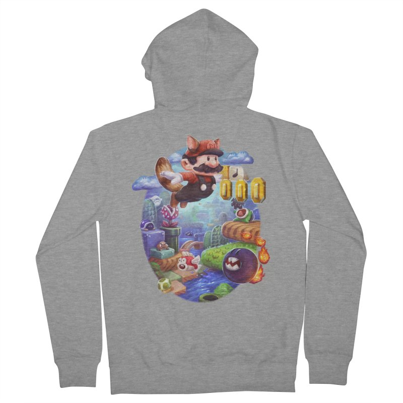 High Adventure Men's French Terry Zip-Up Hoody by dustinlincoln's Artist Shop