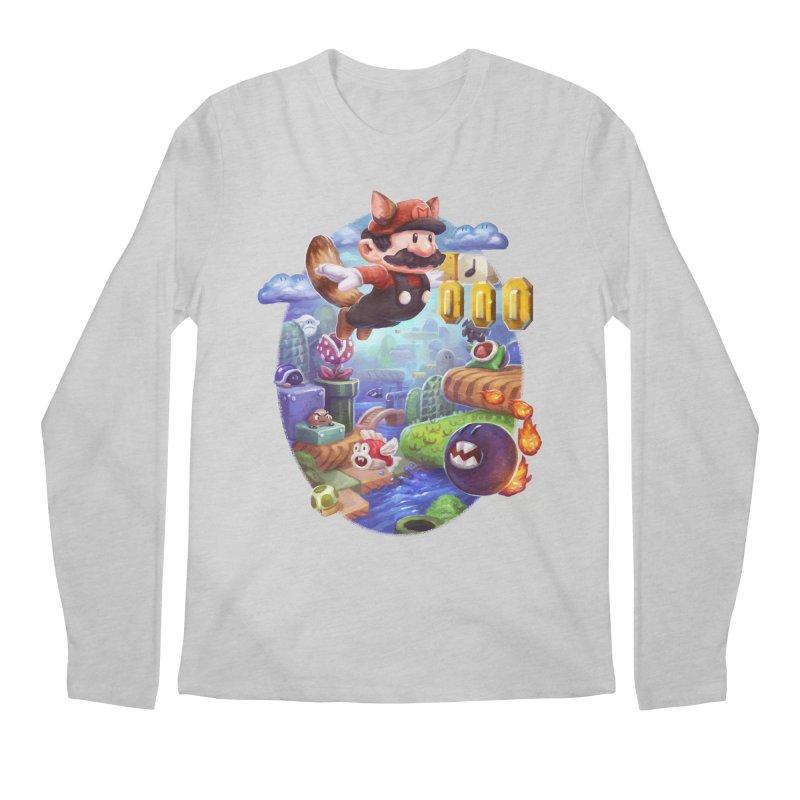 High Adventure Men's Longsleeve T-Shirt by dustinlincoln's Artist Shop