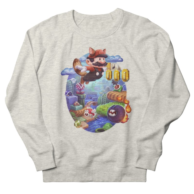 High Adventure Men's French Terry Sweatshirt by dustinlincoln's Artist Shop