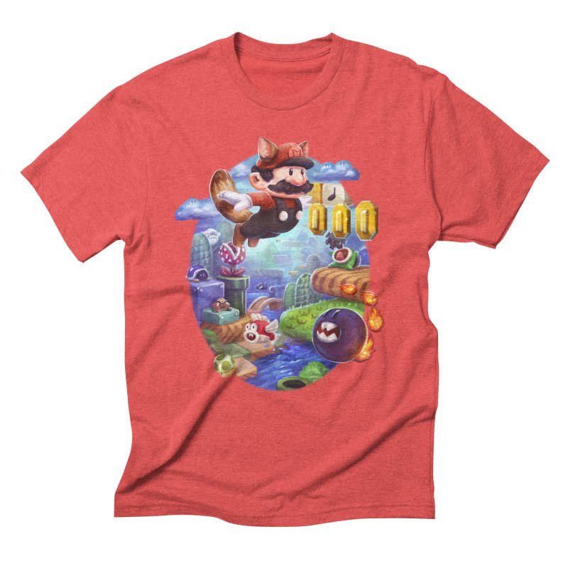 High Adventure Men's Triblend T-Shirt by dustinlincoln's Artist Shop