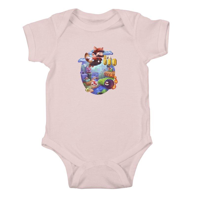 High Adventure Kids Baby Bodysuit by dustinlincoln's Artist Shop